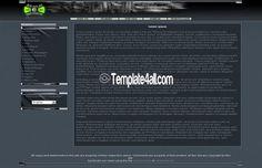 Phpnuke 7 Themes Dark Php Nuke Template #phpnuke #dark #phpnukethemes