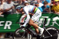 Prologue: World champion Tony Martin had some bad luck, flatting during the prologue.