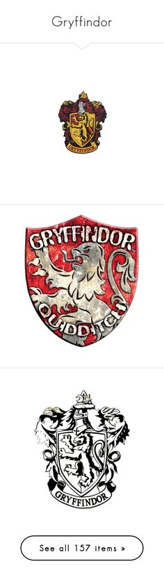 """""""Gryffindor"""" by argboo on Polyvore featuring home, home decor, office accessories, harry potter, gryffindor, hogwarts, backgrounds, hp, filler and words"""