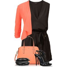 Untitled #4658 by cassandra-cafone-wright on Polyvore featuring moda, maurices, Dsquared2, Kate Spade and Kenneth Jay Lane