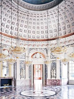 Candida Höfer large-format photos of architectural interiors reveal the private lives of public spaces