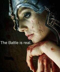 Spiritual warfare is real...