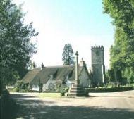 Upottery village, Blackdown Hills, Devon