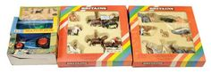 """Britains No.7131 """"Zoo"""" Animal Set And Another But No.7176"""