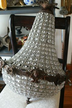 French empire crystal prisms figural chandelier anne sorrells la french empire crystal prisms figural chandelier anne sorrells la maison antiques and design pinterest french empire chandeliers and empire aloadofball Choice Image