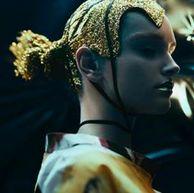 Makeup by Rae Morris, Hair By @eugenesouleiman Shot by Georges Antoni, styling by Melissa Nixon