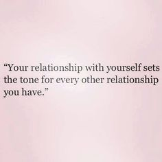 you set the stage for the relationships you will have