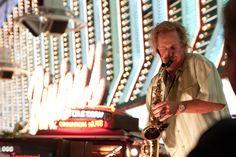 Saxophone Player, Las Vegas Old Strip