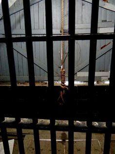 Road Trip Ontario, dormir a la prison d'Ottawa.  Potence officielle