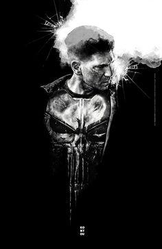 The Punisher by Jake Kontou - Home of the Alternative Movie Poster -AMP- Punisher Comics, Daredevil Punisher, Deadpool Wolverine, Jon Bernthal Punisher, Frank Castle Punisher, Xmen Apocalypse, Cat Cave, Marvel Series, Alternative Movie Posters