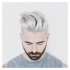Men's Haircuts Men's Hairstyles Hairflips ❤ liked on Polyvore featuring men's fashion