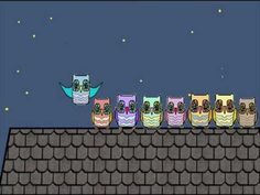 A Counting Song for Children - Ten Little Owls Sitting on a Roof