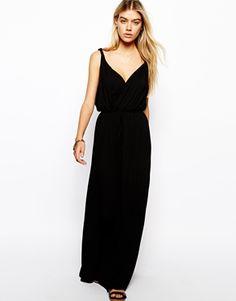 ASOS Maxi Dress with Grecian Wrap