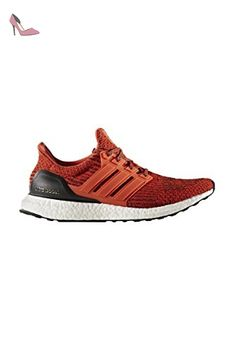 Ultra Boost Hommes - Chaussures de Course - Energie/Noir - taille 44 2/3 EU - Chaussures adidas (*Partner-Link)