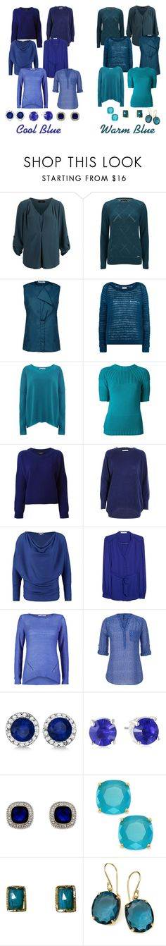 """""""Cool and Warm Blue"""" by amyderry ❤ liked on Polyvore featuring SELECTED, Barbour International, Jil Sander, 360 Sweater, ISOLA MARRAS, Nomad, FWSS, WalG, MANGO and ONLY"""