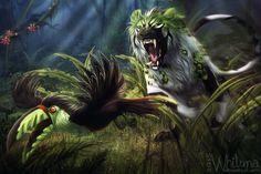 Risky bird hunt by Whiluna.deviantart.com on @DeviantArt
