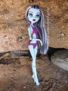 Swimsuit, crocheted, doll Monster High (Monster School)