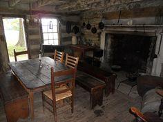 1800s kitchen