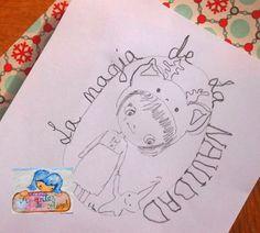 Apuntes de colores: Un dibujo para el diario de Navidad
