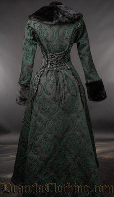 Green Evil Princess Coat