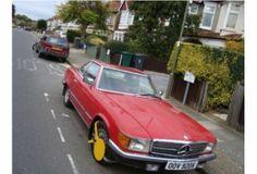 Mercedes 380 SL £4,500