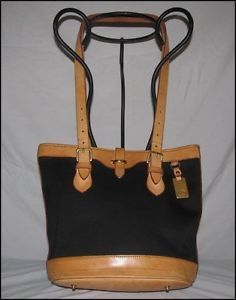 VINTAGE DOONEY   BOURKE CABRIOLET BUCKET BAG-MADE IN U.S.A.. Kathy Young · designer  handbags 0473b11db385d