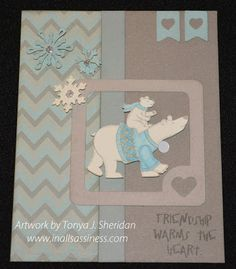 Artwork by Tonya J. Sheridan.  Created with CTMH Frosted paper and Artbooking Cricut cartridge.  www.inallsassiness.com