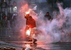 TUZLA, Bosnia-Herzegovina, 2/7/2014 — Violent protests by thousands of unpaid workers in a northern Bosnian city spread to other parts of the country Thursday and have morphed into widespread discontent in an election year about unemployment and rampant corruption.