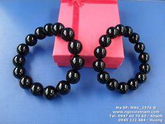 Vòng tay Obsidian đen - Giá 200/250k - Cỡ 12/14 mm