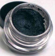 Sweet Libertine's Oasis - Dark, intense blue mineral eyeshadow that would look great in a smokey eye.