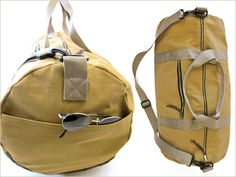 Encase the spirit of adventure in this very cool duffle bag.