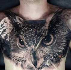 Chest piece by Matt Jordan - This is actually insane! Looks so real!!!