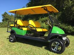 John Deere Six Passenger Limo golf cart from www.kingofcarts.net