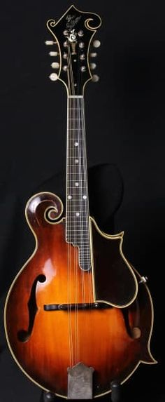 """Up for sale today is the """"Holy Grail"""" of Mandolins. Here is a 1923 Gibson…"""