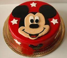 Bolos Coloridos: Bolo Mickey Mouse