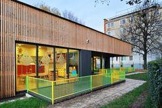 Kindergarten Jelka , Ljubljana, 2010 - Arhitektura Jure Kotnik