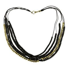 Costume Jewelry, Resin Beads, Necklace, Black and Golden, Gothic, 30 inches ShalinIndia http://www.amazon.com/dp/B009TN9NKC/ref=cm_sw_r_pi_dp_AbEQvb1SH1NDX
