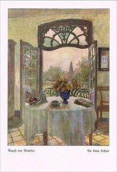 """""""Die blaue Schale"""" von August von Brandis"""