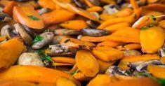 Cuisine-à-Vous: Worteltjes en champignons met tijm uit de oven