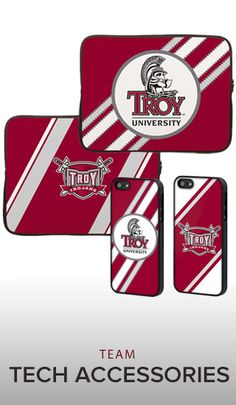 Show your #TROYUspirit with laptop and phone accessories offered at the Troy U Bookstore