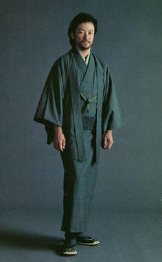 Tadanobu Asano (Japanese actor). Felt(Free magazine) 2009. Kimono.