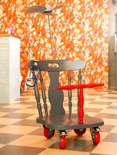 Upcycled Chairs - neat ideas! #upcycled #chairs