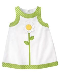 A sweet spring dress for the little one Baby Girl Dress Patterns, Baby Dress Design, Little Girl Outfits, Little Girl Dresses, Kids Outfits, Kids Frocks Design, Baby Frocks Designs, Toddler Dress, Baby Sewing