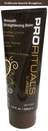 ProRituals Smooth Straightening B. Coarse Hair, Down Hairstyles, Straightener, Anti Frizz, The Balm, Hair Care, Protein, Paraben Free, Personal Care