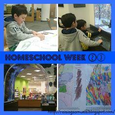 Raising Samuels Homeschool: Homeschool Week 23