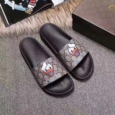 0b053b3d454c37 Gucci unisex woman man couple shoes summer casual slippers slides sandals