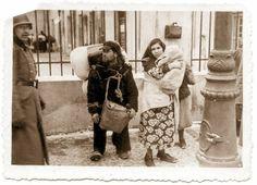 Żydowska rodzina. Lublin ul. Zielona