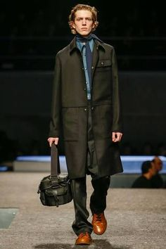 Prada Fall 2014 Menswear Collection Slideshow on Style.com