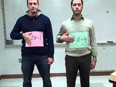 Sweet music video for solving systems of equations! I can imagine playing this…