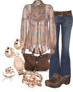 """""""Silk Peasant"""" by damussel on Polyvore"""